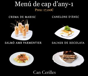 Menu de cap d'any