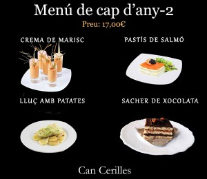 Menu de cap any