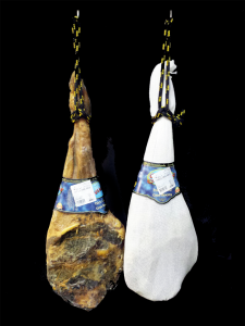 Espatlles de porc blanc de bodega orígen Salamanca (aprox. 4kg)